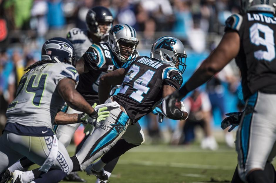 Los Panthers mantuvieron su invicto en la temporada al derrotar en los últimos minutos a los Seahawks