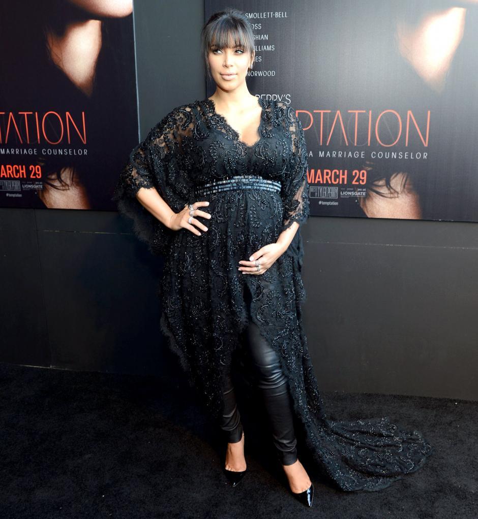 Kim Kardashian ganó su primer Rizzie por su actuación en Temptation.