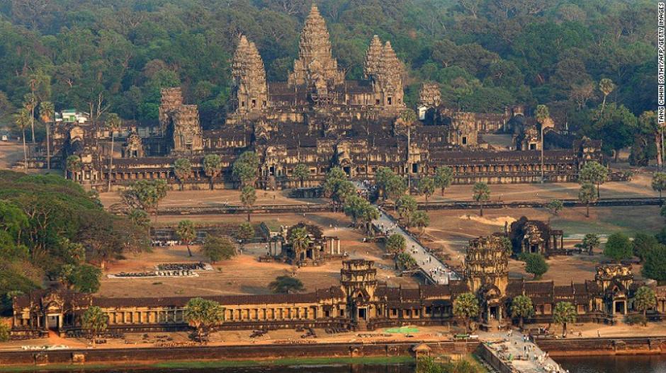 El complejo de templos en Camboya ganó es el sitio número uno de la lista de Lonely Planet.