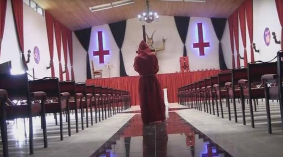 "Polémico templo para adorar a ""Lucifer"" foto"