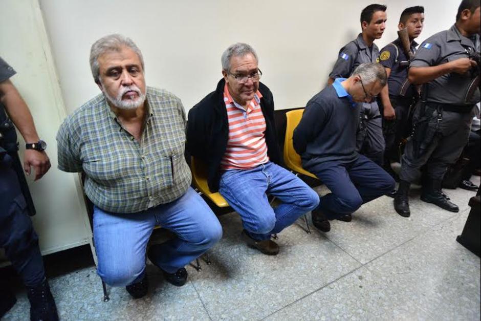 """Javier Ortiz alias """"Teniente Jerez"""" y Miguel Ángel Lemus aunque habían sido beneficiados con medidas sustitutivas, no pudieron salir por estar en prisión por el caso La Línea. (Foto: Archivo/Soy502)"""