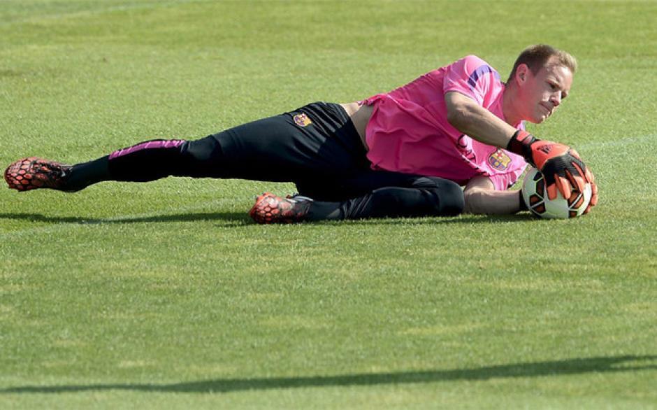 Ter Stegen es una de la figuras de Barcelona cuando es exigido. (Foto: Archivo)