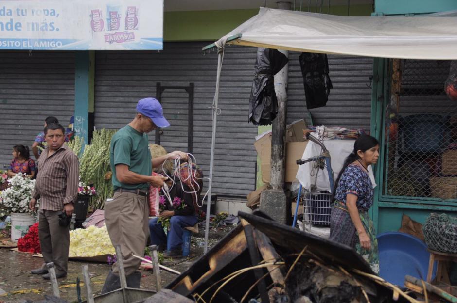 La Terminal ha sido objeto de varios incendios. (Foto: Fredy Hernández/Soy502)