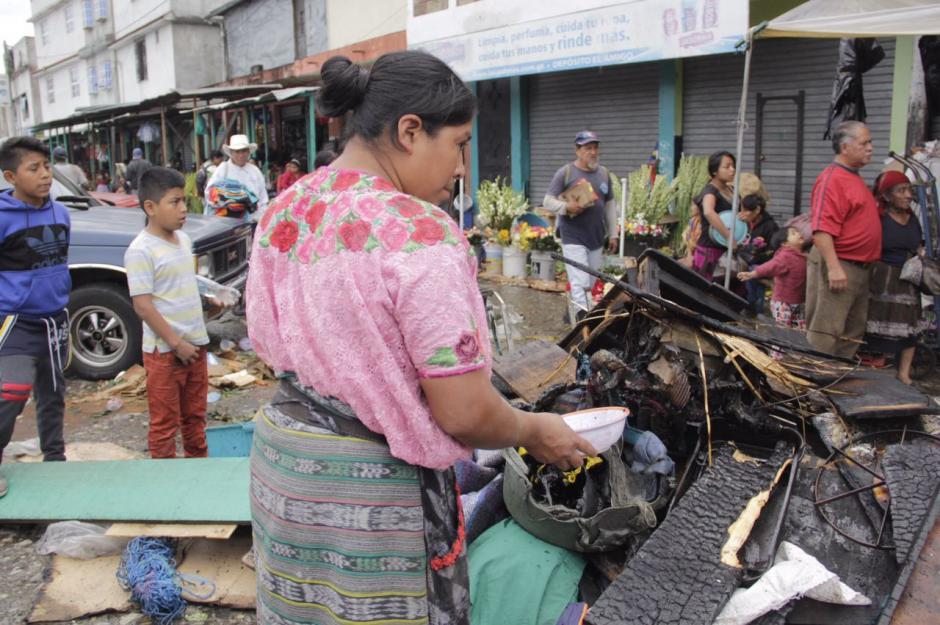 Al menos 16 locales fueron afectados. (Foto: Fredy Hernández/Soy502)