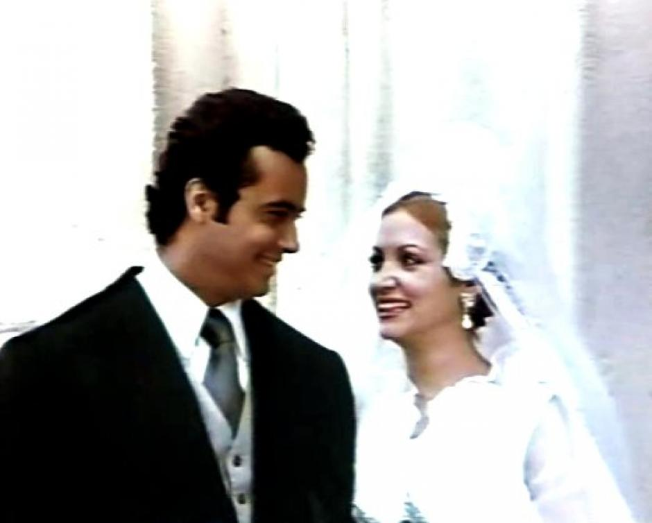 Los actores Guillermo Andreu y Carolina Lanuza participaron también en la película filmada en 1976. (Foto: Luigi Lanuza)