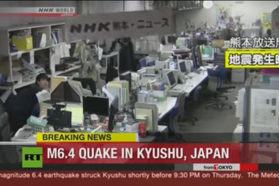 Un terremoto de 6.5 grados golpeó el suroeste de Japón. (Foto: AFP)