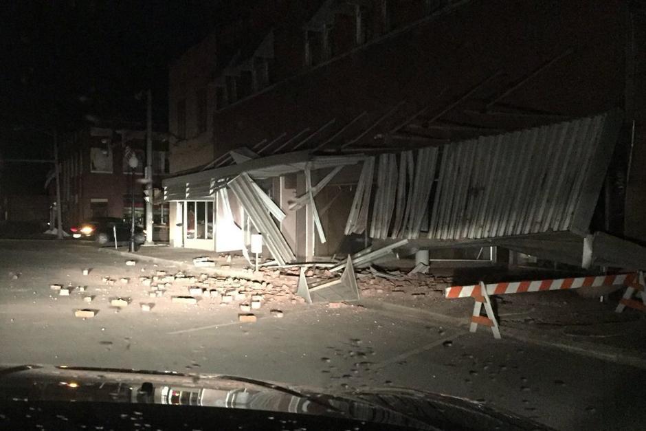 El terremoto provocó daños en edificios y viviendas. (Foto: Sismología Mundial)