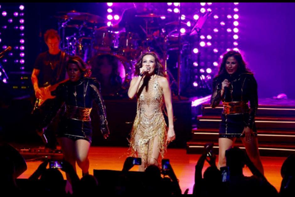 "Thalía se encuentra de gira con ""Latina Love Tour"". (Foto: Instagram)"