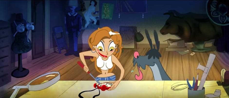 Thalía es un personaje animado en su nuevo clip. (Imagen: captura de YouTube)