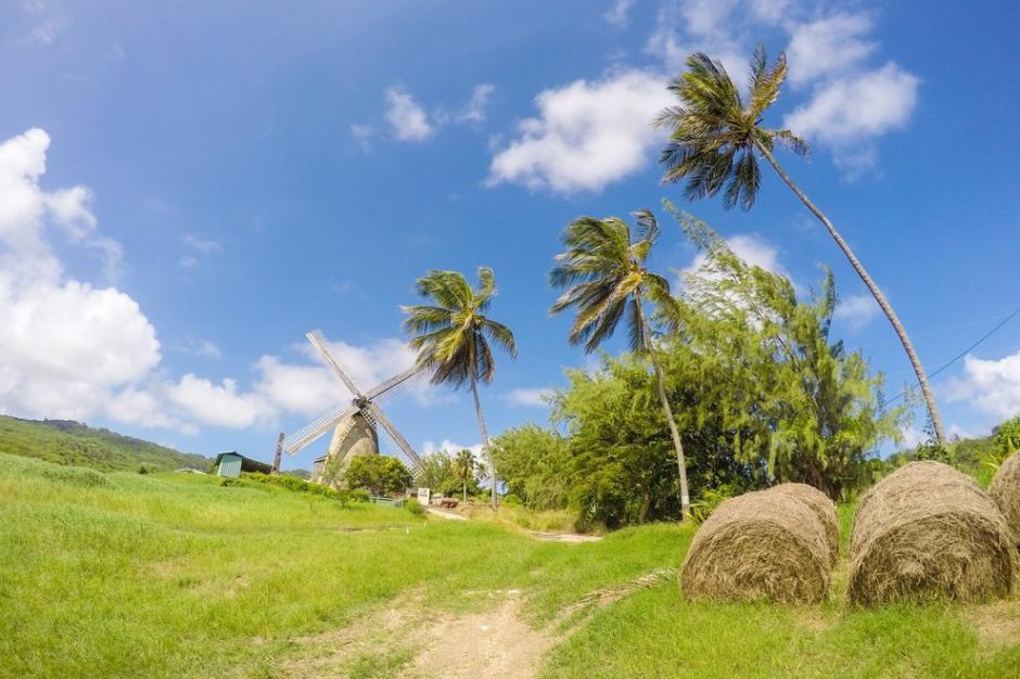 El Molino de viento en Barbados ofrece visitas panorámicas de la Costa Este de la Isla es el lugar número 10 entre los más románticos del mundo. (Foto:Photo courtesy of Glory Tours)