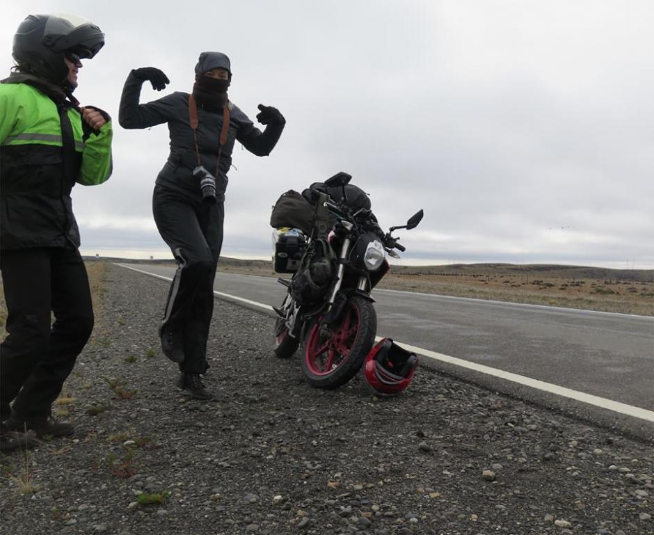 Con cámara en mano los realizadores se aventuraron a documentar el viaje. (Foto: Electric Odyssey)