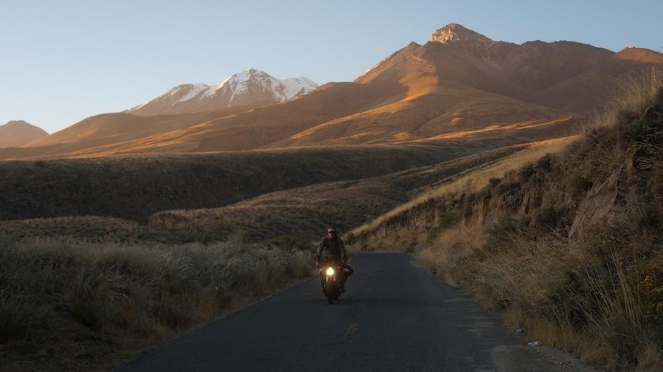 Una motocicleta eléctrica fue el medio de transporte para recorrer el continente. (Foto: electric Odyssey)