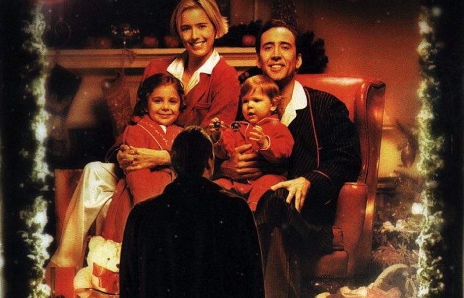 """La nieve que cae en las primeras escenas de The Family Man simboliza el cambio en la vida de Jack, el personaje principal, esto es un homenaje a la película """"Its a wonderful Life"""". (Foto: El que lucha con él)"""