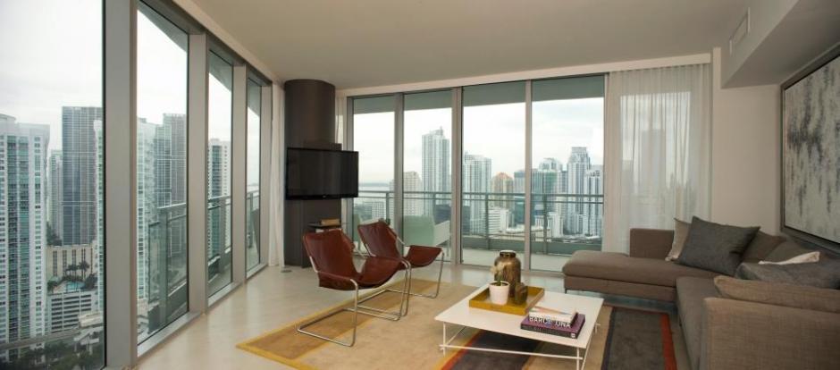 Las habitaciones son amplias y tienen vista a la ciudad. (Mint at Riverfront/Facebook)