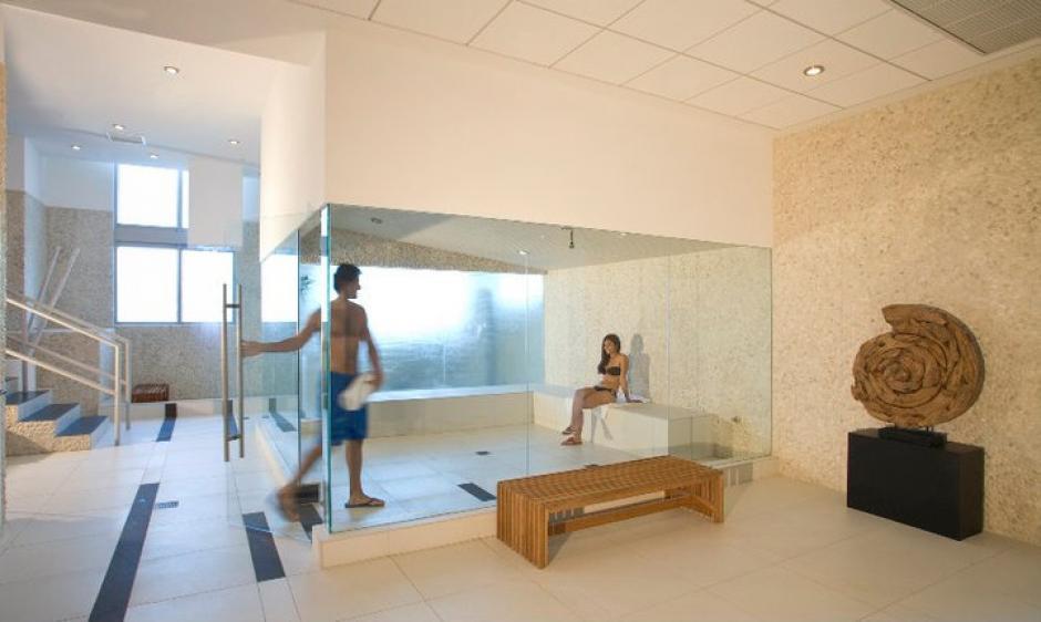"""Dentro del edificio hay un """"spa"""". (Mint at Riverfront/Facebook)"""