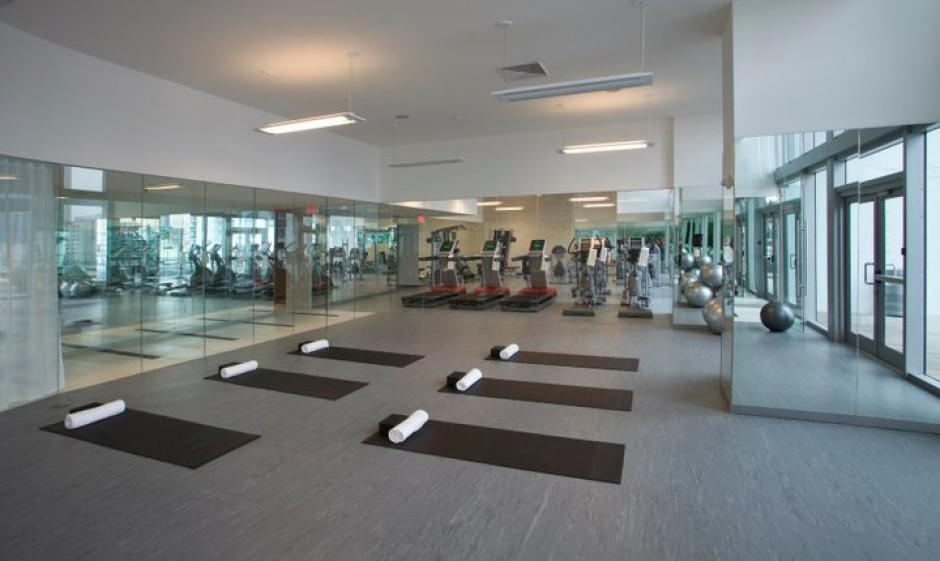 En el edificio hay gimnasio. (Mint at Riverfront/Facebook)