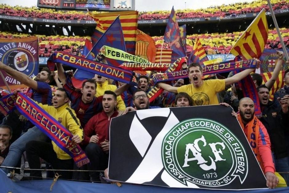 Según el presidente del Chapecoense, el Barcelona es el único que les brindó el apoyo económico que requerían. (Foto: The National)