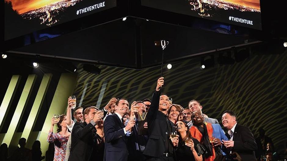 La premiación de The Venture fue emocionante. (Foto: The Venture)