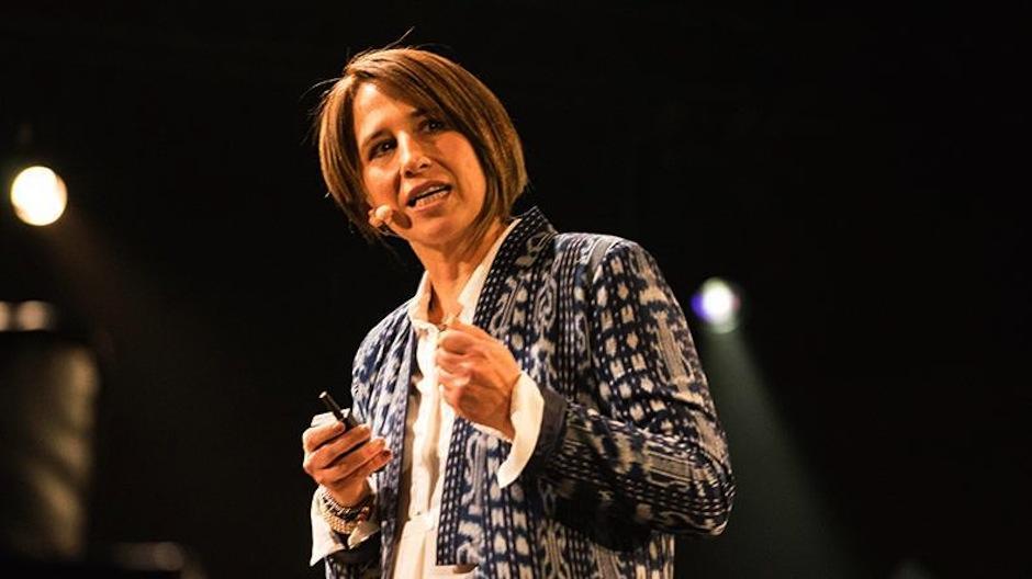 María Pacheco brilló en el escenario contando la historia de Wakami. (Foto: The Venture)