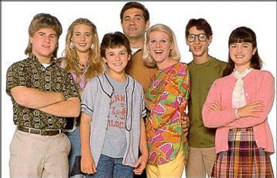 Parte del elenco de Los Años Maravillosos. (Foto: dailymail)