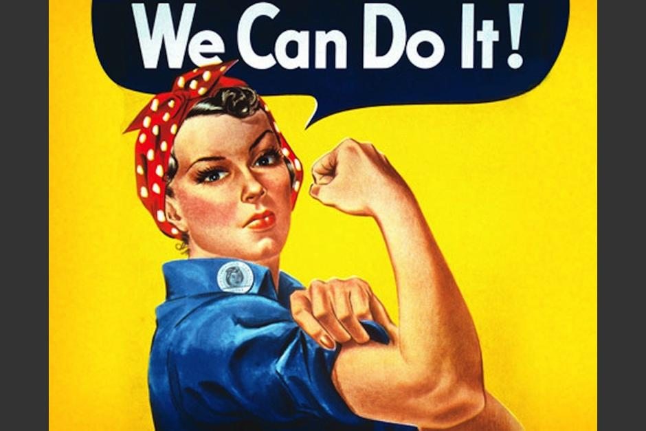 Este famoso cartel se convirtió en el símbolo del feminismo. (Foto: theatlantic,com)