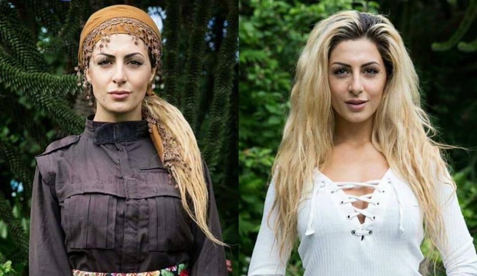 Joanna Palani tiene 23 años y es de origen kurdo. (Foto: theinquisitr.com)