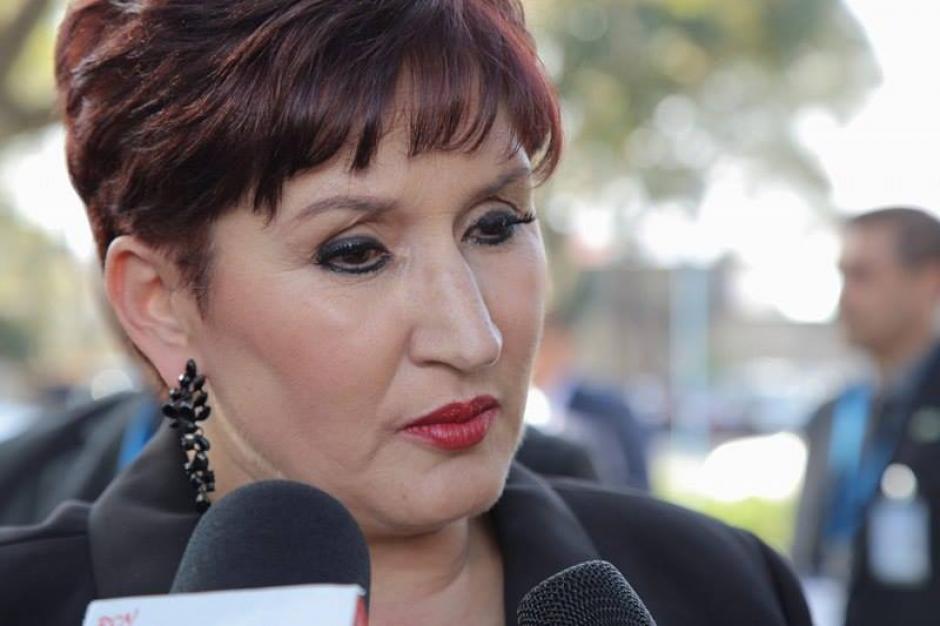 La fiscal general del Ministerio Público indicó que se solicitaron 10 arraigos contra exdiputados. (Foto: Jorge Rojas/Soy502)