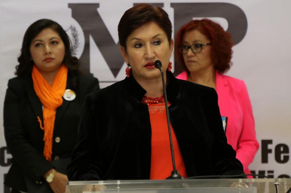 "La fiscal general Thelma Aldana informó que el caso de Claudina Velásquez es ""difícil por el mal manejo de la escena del crimen"". (Foto: Alejandro Balán/Soy502)"