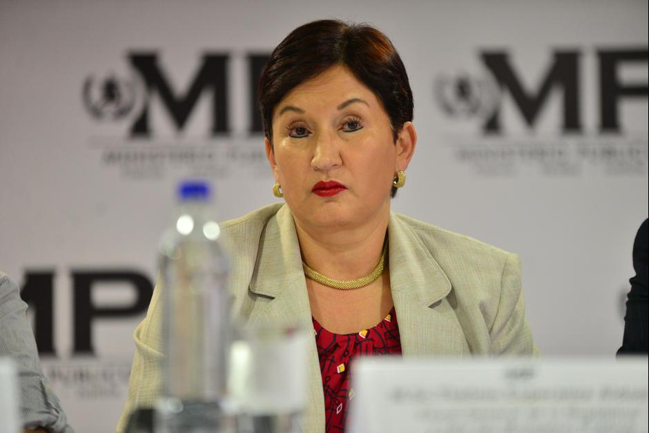 La Fiscal General denunció haber recibido amenazas. (Foto: Archivo/Soy502)