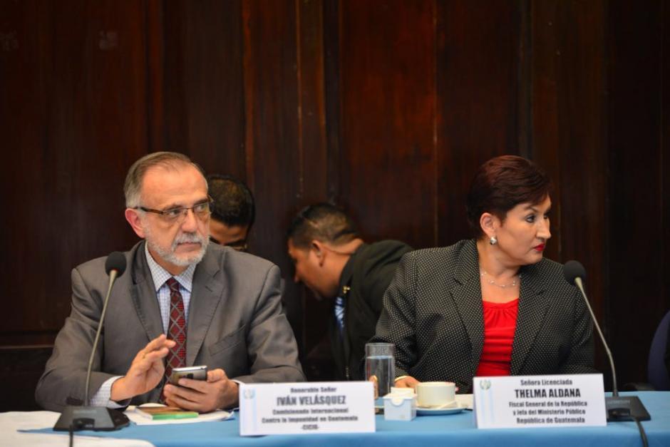 El 2 de junio, el MP y la CICIG revelaron las anomalías en el financiamiento del PP. (Foto: Jesús Alfonso/Soy502)