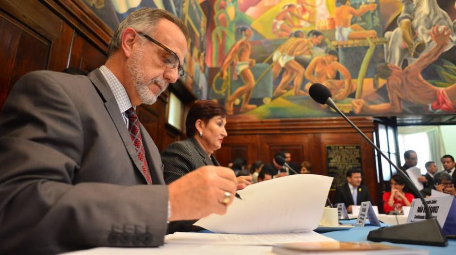 Iván Velásquez señaló que el Partido Patriota fue creado para saquear al Estado. (Foto: Jesús Alfonso/Soy502)