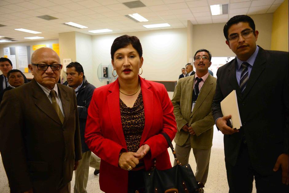 La Fiscal General, Thelma Aldana, aceptó las renuncias de ambos antes de que fueran juramentados para ocupar un cargo en el Ministerio de Gobernación. (Foto: Archivo/Soy502)