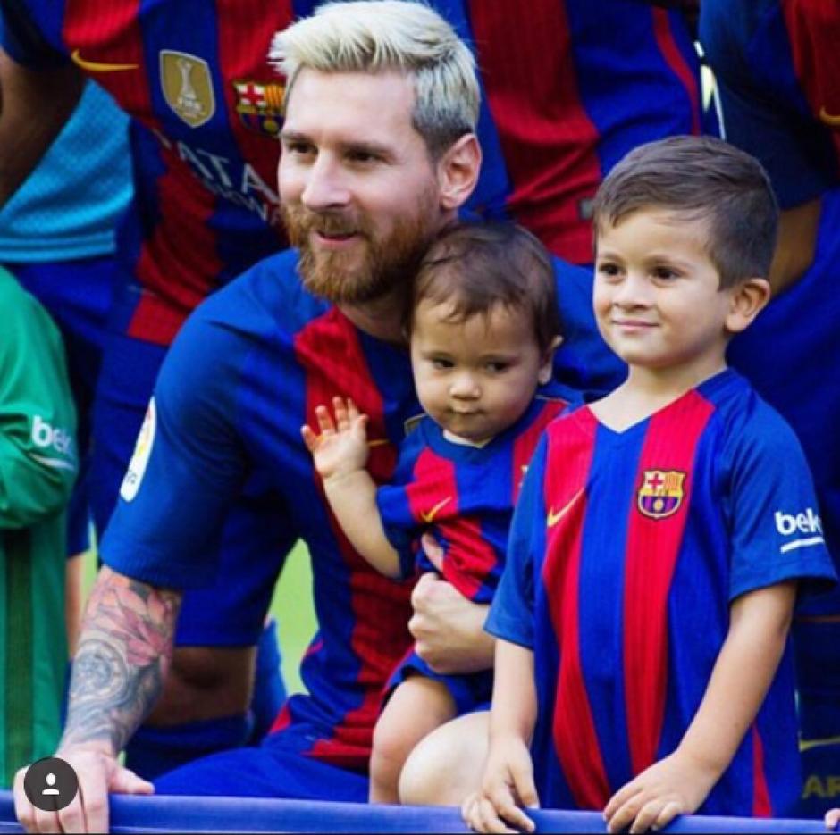 Thiago y Mateo son los hijos de Lionel Messi y Antonella Rocuzzo. (Foto: Instagram/@antoroccuzzo88)
