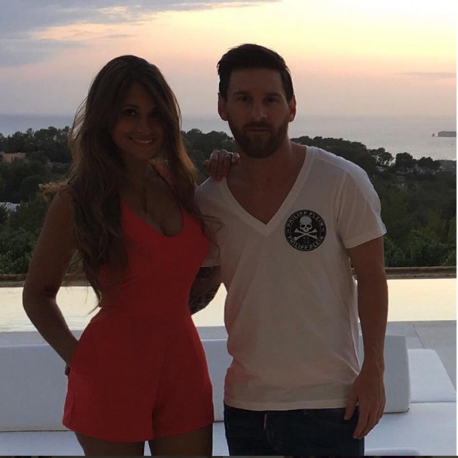 Messi tiene dos hijos junto a Antonella Racuzzo. (Foto: Instagram/@antoroccuzzo88)