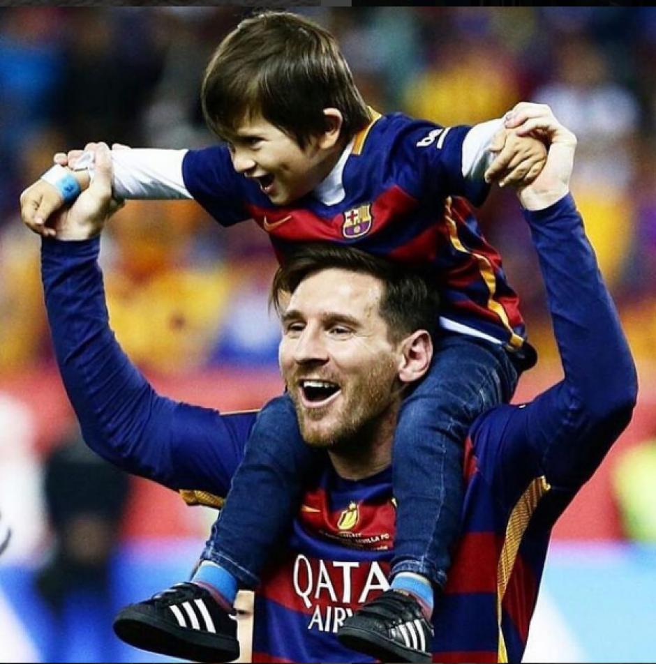 El FB Barcelona podría fichar a Thiago para un nuevo proyecto deportivo. (Foto: Instagram/@antoroccuzzo88)