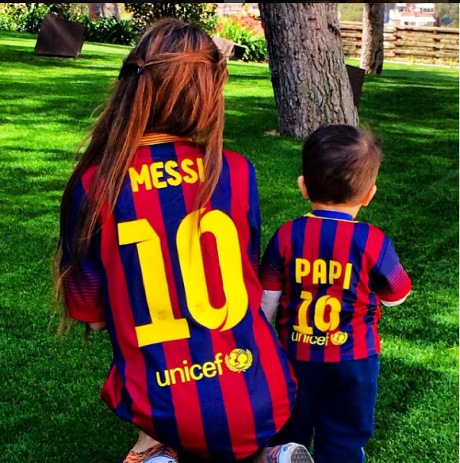 Thiago tiene 3 años y 9 meses. (Foto: Instagram/@antoroccuzzo88)