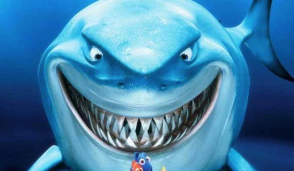 """Muchos lo han comparado con el simpático Bruce, de la película """"Buscando a Nemo"""" (Imagen: The Sun)"""