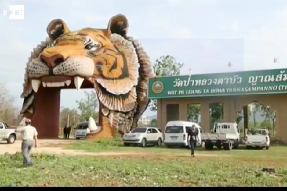 El Templo era conocido como el Templo del Tigre. (Foto: EFE)