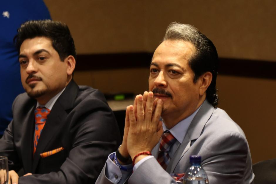 Luis y Hernán Hernández se sienten complacidos con esta visita. (Foto. Alejandro Balan/Soy502)