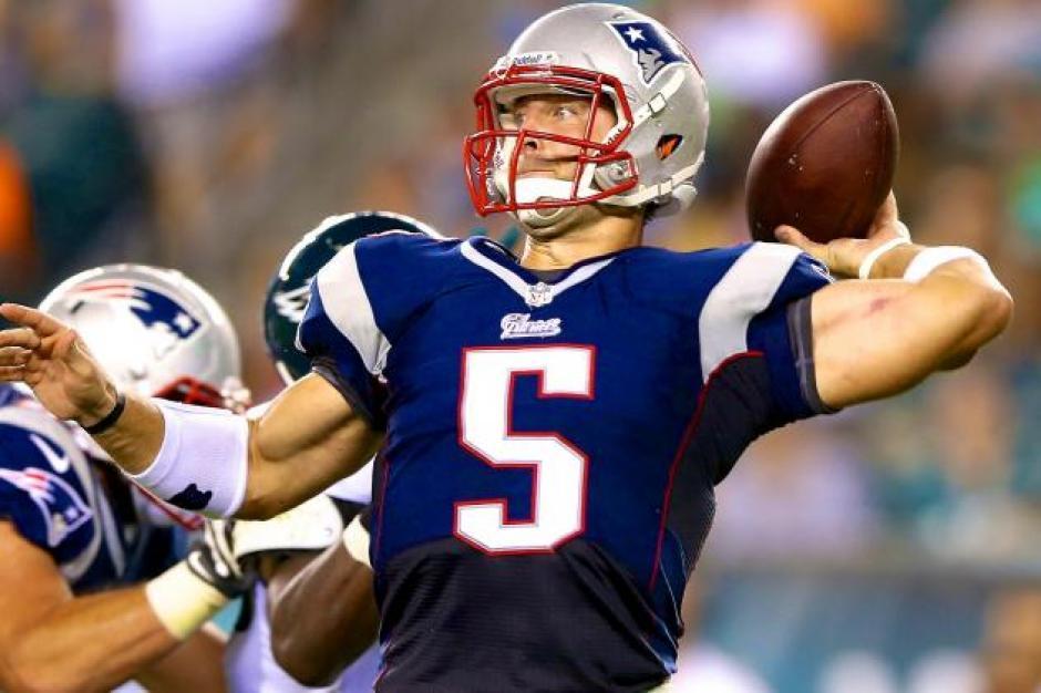 Tebow jugó para los Patriotas de Nueva Inglaterra. (Foto: bleacherreport.com)