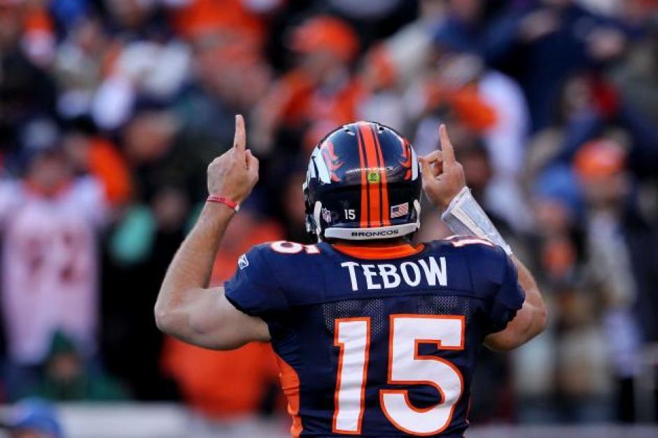 Tebow también fue parte de los Broncos de Denver. (Foto: bleacherreport.com)