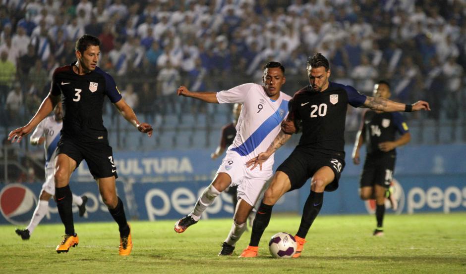 Gerson Tinoco brilló durante el juego. (Foto: Luis Barrios/Soy502)