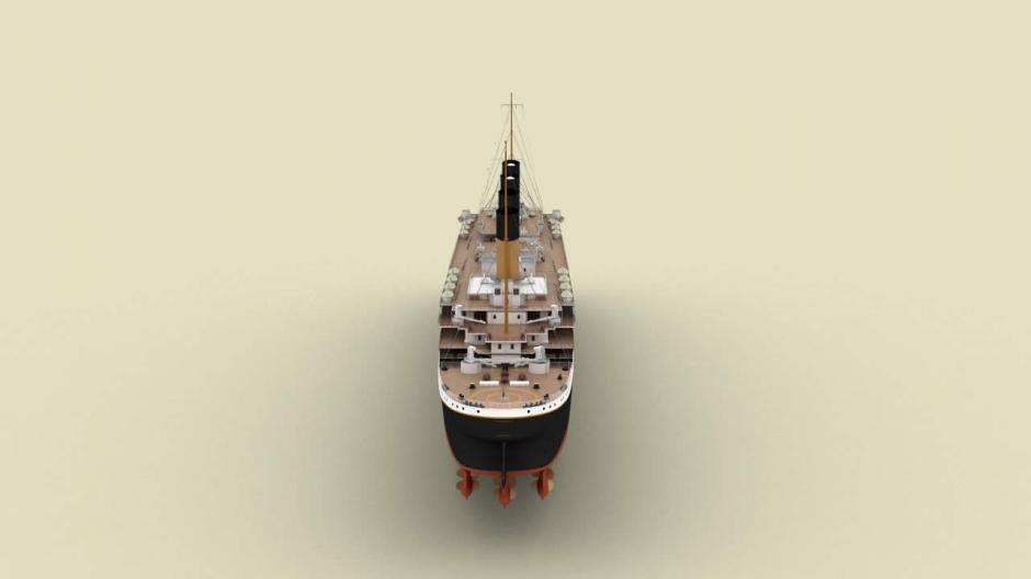Así lucirá el Titanic II (Foto: titanic-ii.com)