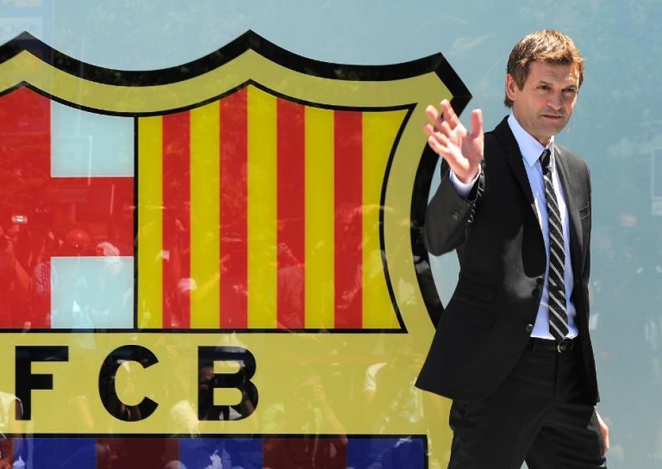 Tito Vilanova siempre estuvo al Club de Fútbol Barcelona. Este 25 de mayo murió luego de una larga convalecencia; esta serie de imágenes muestra parte de su trabajo en el Barcelona. (Foto: AFP)
