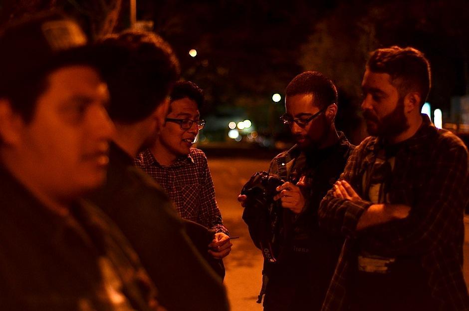 Los integrantes de la banda compartieron un momento divertido con nosotros. (Foto: Selene Mejía/Soy502)