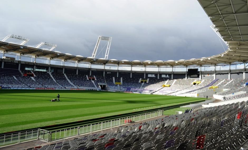 Cuatro juegos serán disputados en el estadio de Toulouse. (Foto: topimages.org)