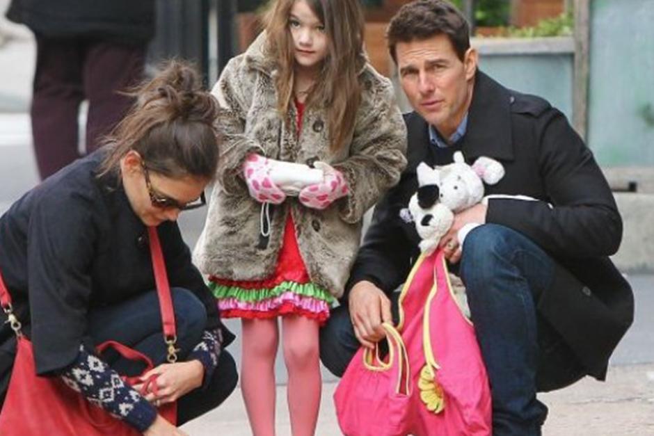 Suri es la hija en común de Tom y Katie Holmes. (Foto: Archivo)