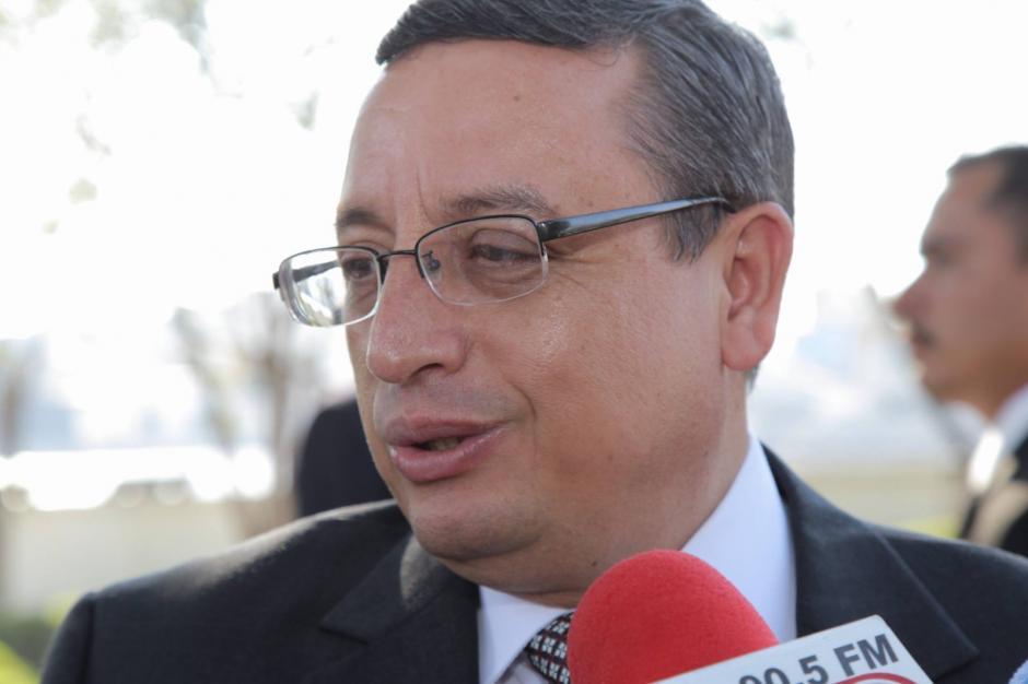 Actual magistrado presidente, Rudy Pineda, pasa a ser Vocal IV. (Foto: Wilder López/Soy502)