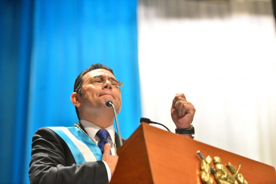 El equipo de comunicación del presidente dijo que la operación no afectó la agenda del mandatario. (Foto: Archivo/Soy502)