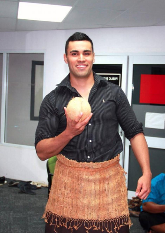 Es el primer atleta de su país en competir en su disciplina. (Foto: Pita Taufatofua)